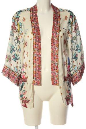 Zara Basic Blousejack abstract patroon extravagante stijl