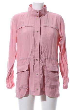 Zara Basic Blusenjacke pink Casual-Look