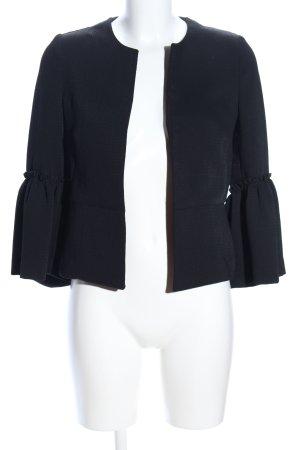 Zara Basic Blouse Jacket black business style