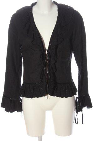 Zara Basic Blouse Jacket black casual look