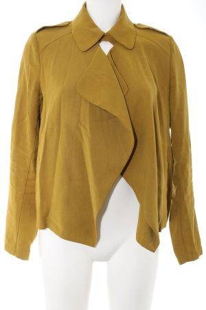 Zara Basic Veste chemisier orange clair style décontracté
