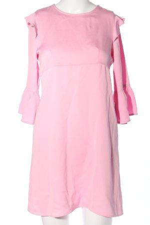 Zara Basic Blusenkleid pink Elegant