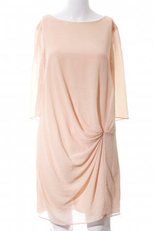 Zara Basic Blusenkleid nude Business-Look