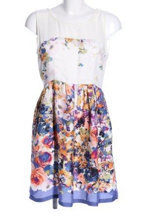 Zara Basic Blusenkleid Blumenmuster Casual-Look