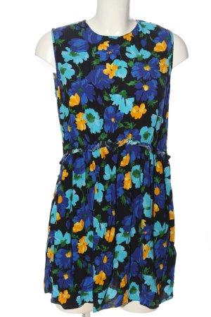 Zara Basic Blusenkleid Allover-Druck Casual-Look