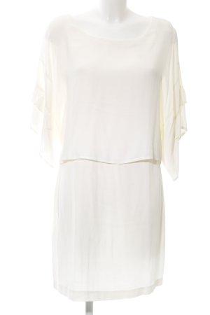 Zara Basic Blusenkleid wollweiß Elegant