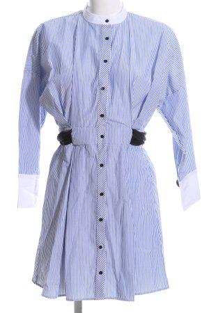 Zara Basic Blusenkleid Streifenmuster Casual-Look