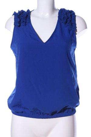 Zara Basic Blusa blu stile professionale