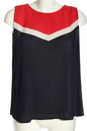 Zara Basic Blusentop mehrfarbig Casual-Look