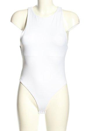 Zara Basic-Body weiß Casual-Look
