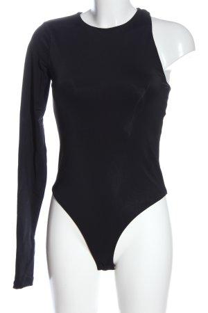 Zara Basic-Body schwarz Casual-Look