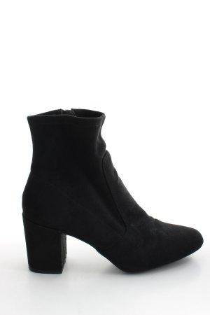 Zara Basic Stivaletto nero stile professionale
