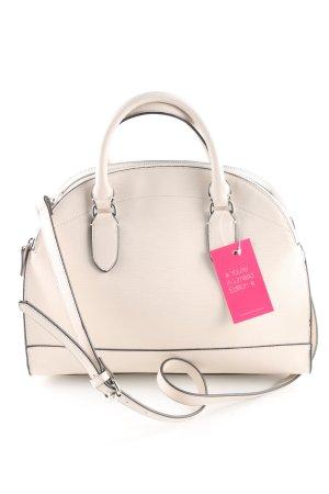 Zara Basic Bowling Bag natural white athletic style
