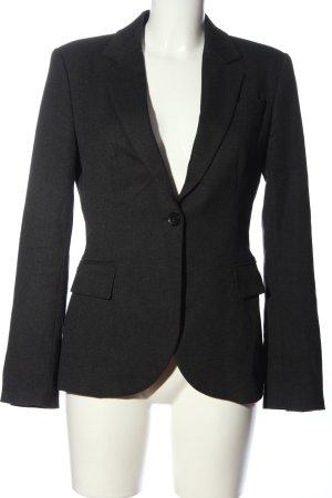 Zara Basic Boyfriend blazer zwart zakelijke stijl