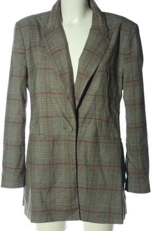 Zara Basic Blazer Boyfriend gris claro estilo «business»