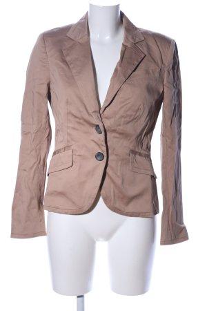 Zara Basic Blazer stile Boyfriend color carne elegante