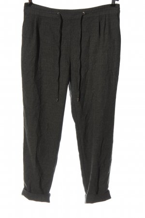 Zara Basic Pleated Trousers light grey casual look