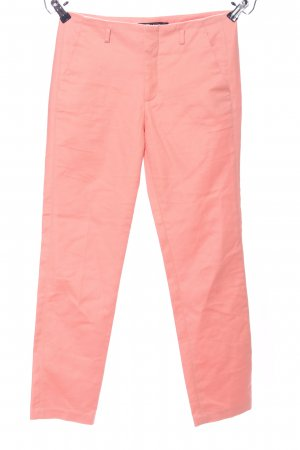 Zara Basic Bundfaltenhose pink Casual-Look