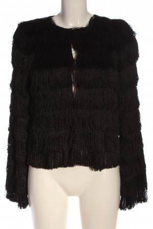 Zara Basic Pilotenjack zwart elegant