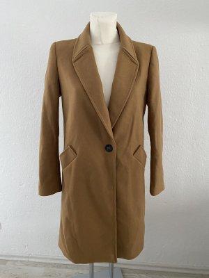 Zara Basic Cappotto corto beige-color cammello