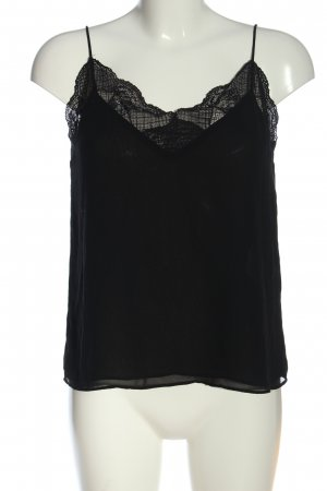 Zara Basic Camisole noir style décontracté