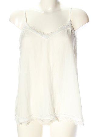 Zara Basic Camisole weiß Casual-Look