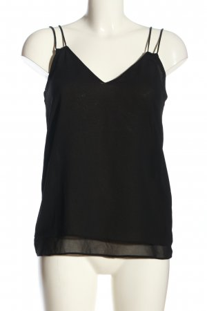 Zara Basic Camisole schwarz Casual-Look