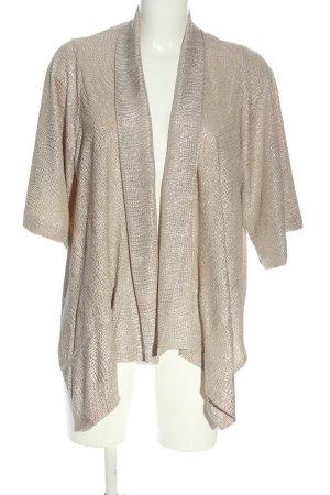 Zara Basic Cardigan creme Casual-Look