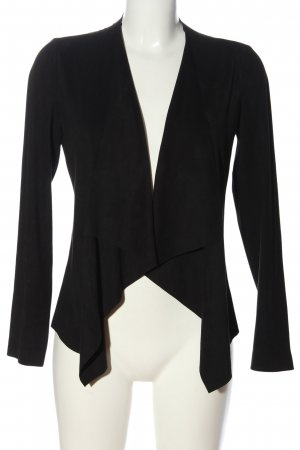 Zara Basic Cardigan schwarz Casual-Look