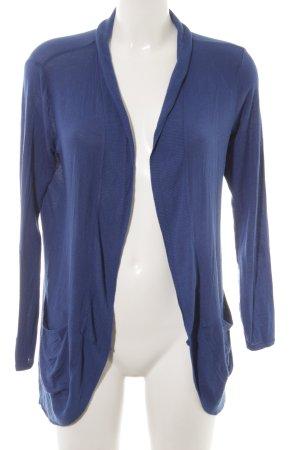 Zara Basic Kardigan niebieski W stylu casual