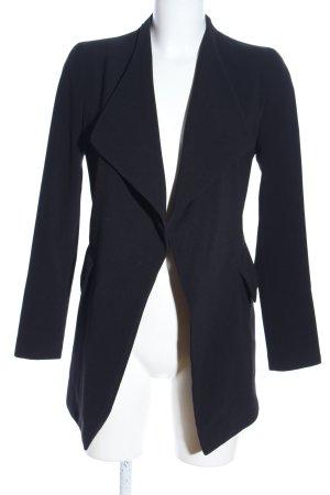 Zara Basic Cardigan schwarz Business-Look