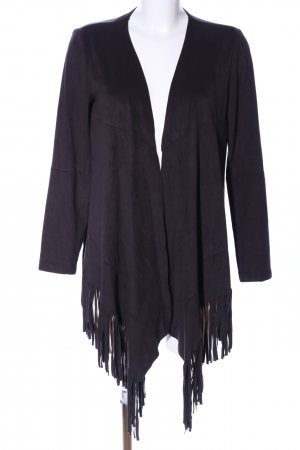 Zara Basic Cardigan lila Casual-Look