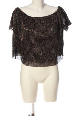Zara Basic Carmen Blouse bronze-colored elegant