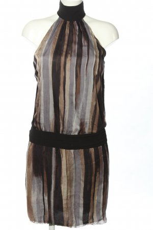 Zara Basic Chiffon Dress striped pattern casual look