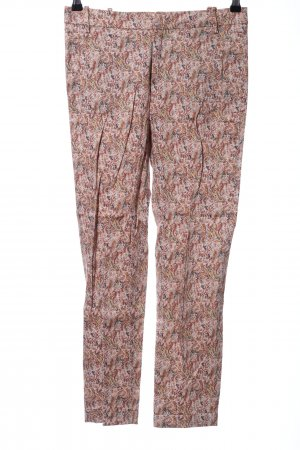 Zara Basic Chinohose Allover-Druck Casual-Look