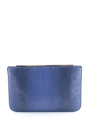Zara Basic Bolso de mano azul