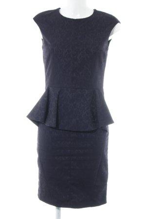 Zara Basic Cocktailkleid graulila-brombeerrot Party-Look