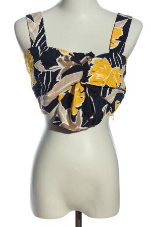 Zara Basic Crop-top imprimé allover élégant