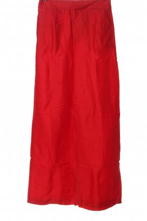 Zara Basic Culottes rood casual uitstraling