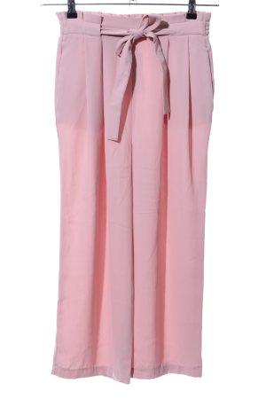 Zara Basic Culottes pink Casual-Look