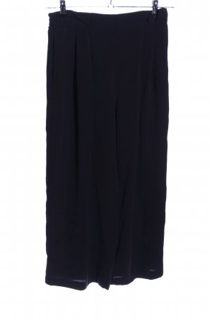 Zara Basic Pantalone culotte nero stile casual