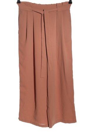 Zara Basic Culottes braun Business-Look