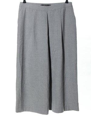 Zara Basic Culottes hellgrau meliert Casual-Look