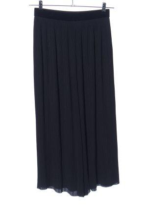 Zara Basic Culottes schwarz Casual-Look
