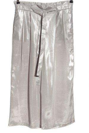 Zara Basic Culottes silver-colored casual look