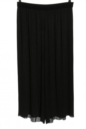 Zara Basic Culottes zwart casual uitstraling