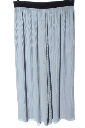 Zara Basic Culotte bleu style décontracté