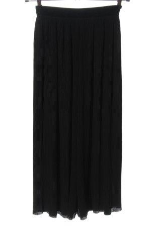 Zara Basic Culotte noir style décontracté