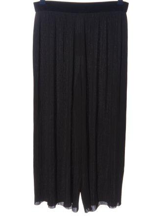 Zara Basic Kuloty czarny W stylu casual