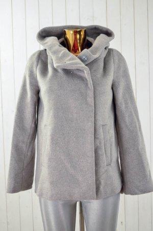 Zara Basic Outdoor Jacket grey-light grey
